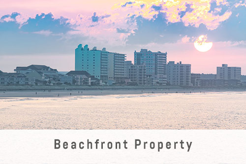 Beachfront Property