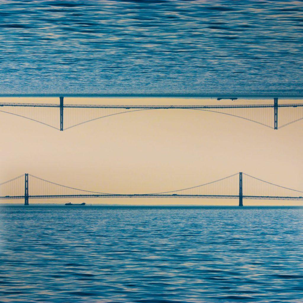 Bridge Mirror Mackinaw Bridge