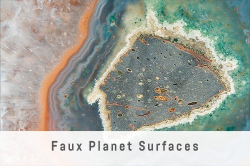 Faux Planet Surfaces