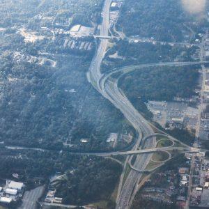 Cessna Plane trip over Ypsilanti and Ann Arbor, MI