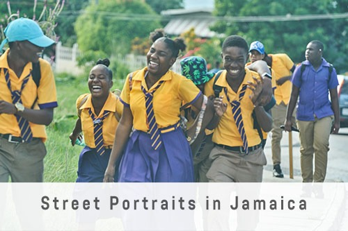 Street Portraits in Jamaica
