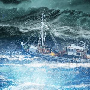The Light in the Ocean Album Artwork Design