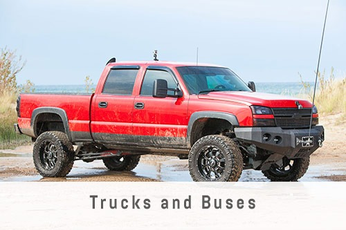Trucks and Buses